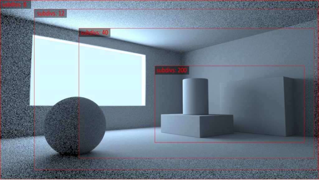 Global illumination - Brute force