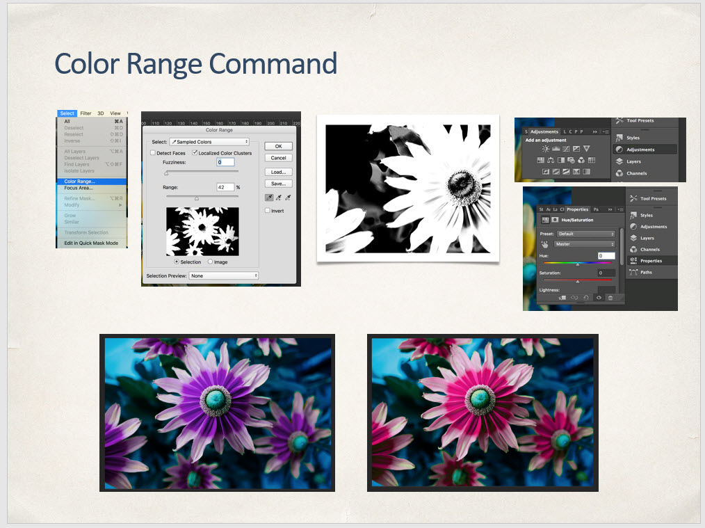 Color Range Command