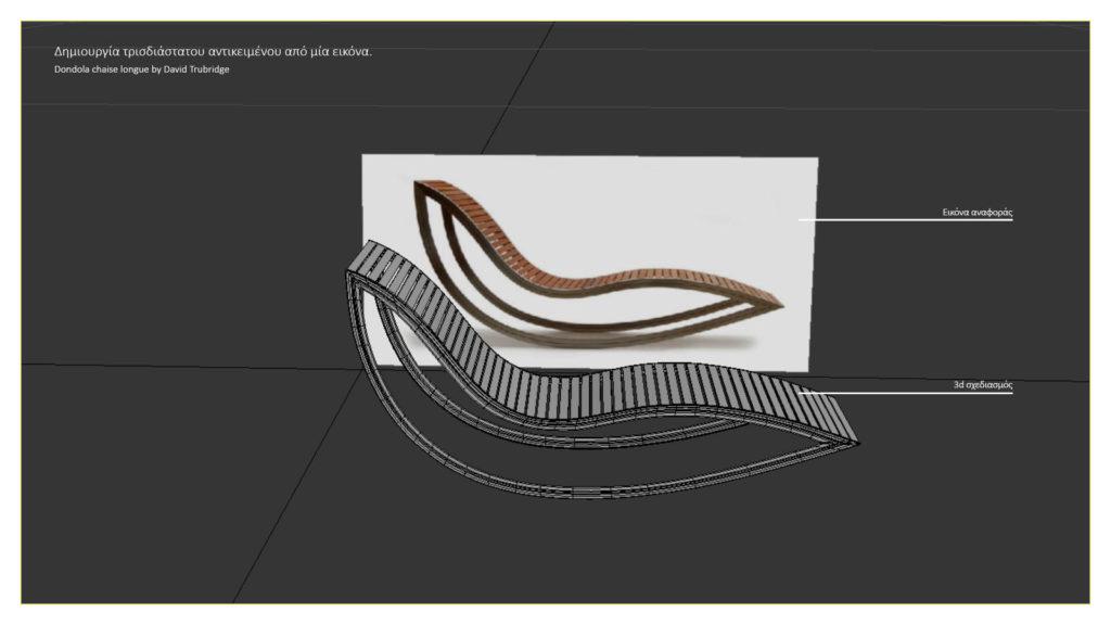 Δημιουργία 3D αντικειμένου από εικόνα.