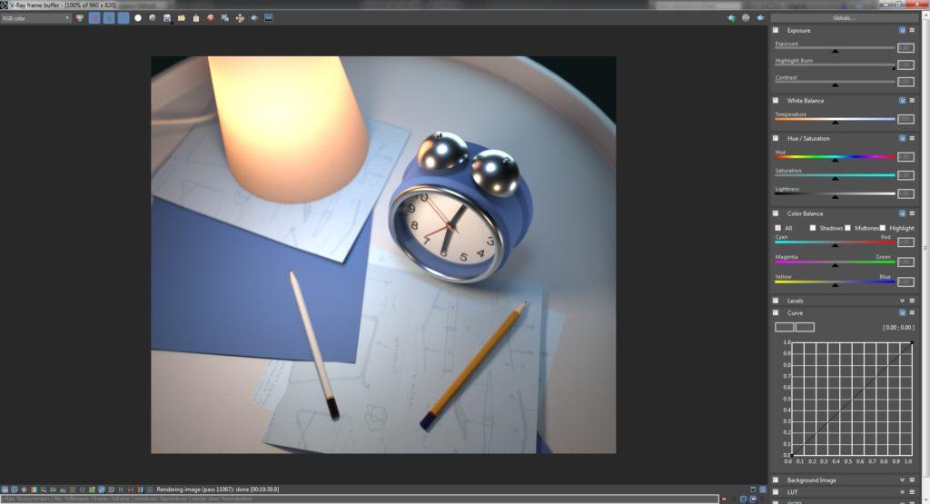 VFB (V-Ray Frame Buffer)