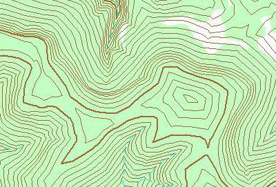 Δημιουργία εδάφους με ισοϋψείς γραμμές