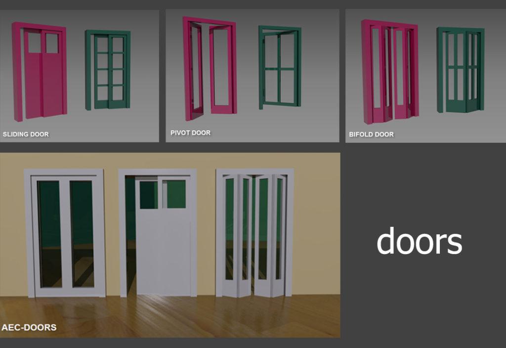 Αρχιτεκτονικά αντικείμενα - Πόρτες