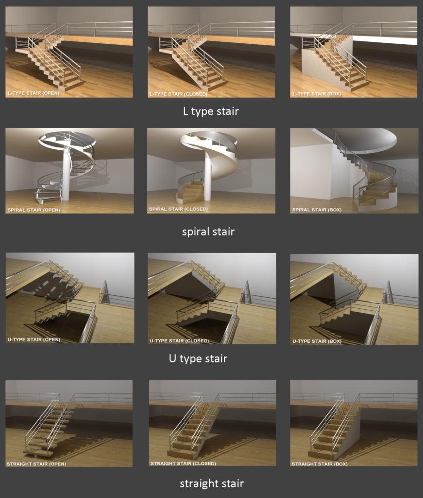 Αρχιτεκτονικά αντικείμενα - Σκάλες