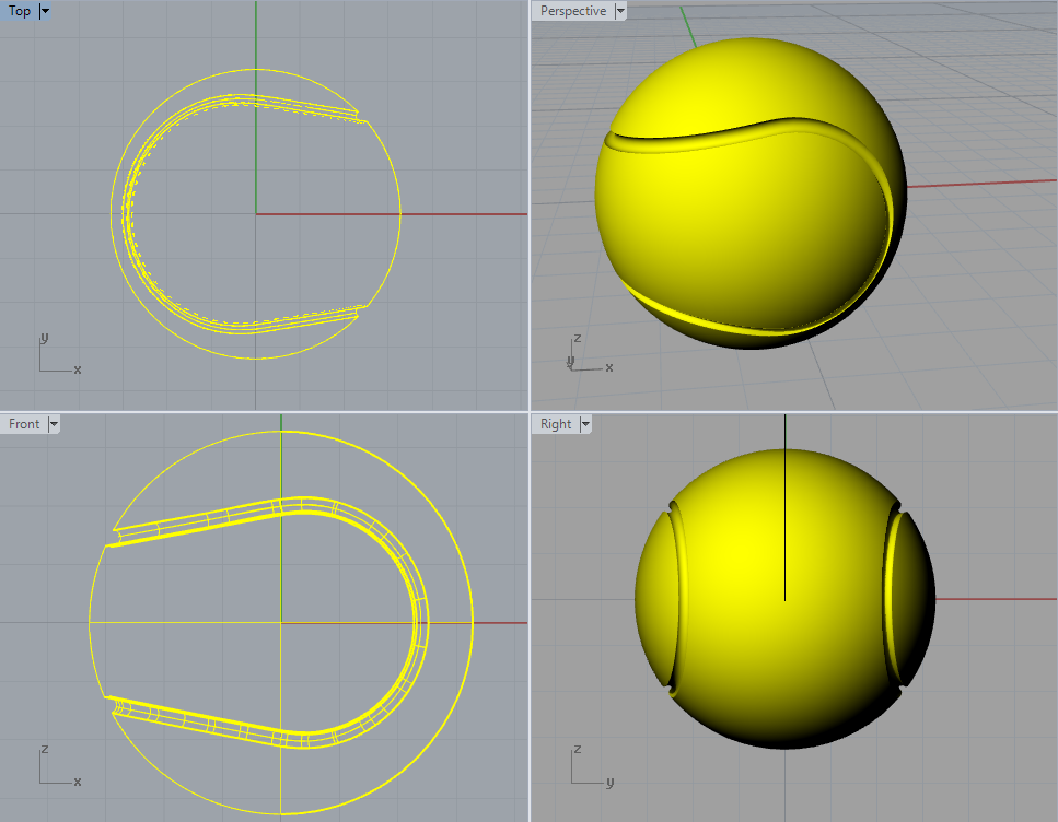 Rhino 5 | Σύνθετη σχεδίαση