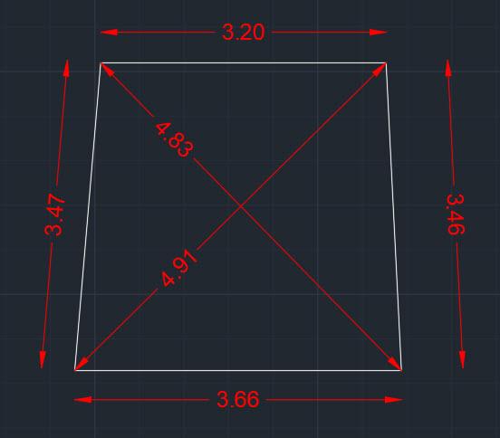 Αποτύπωση κλειστού σχήματος και σχεδίασή του στο AutoCAD