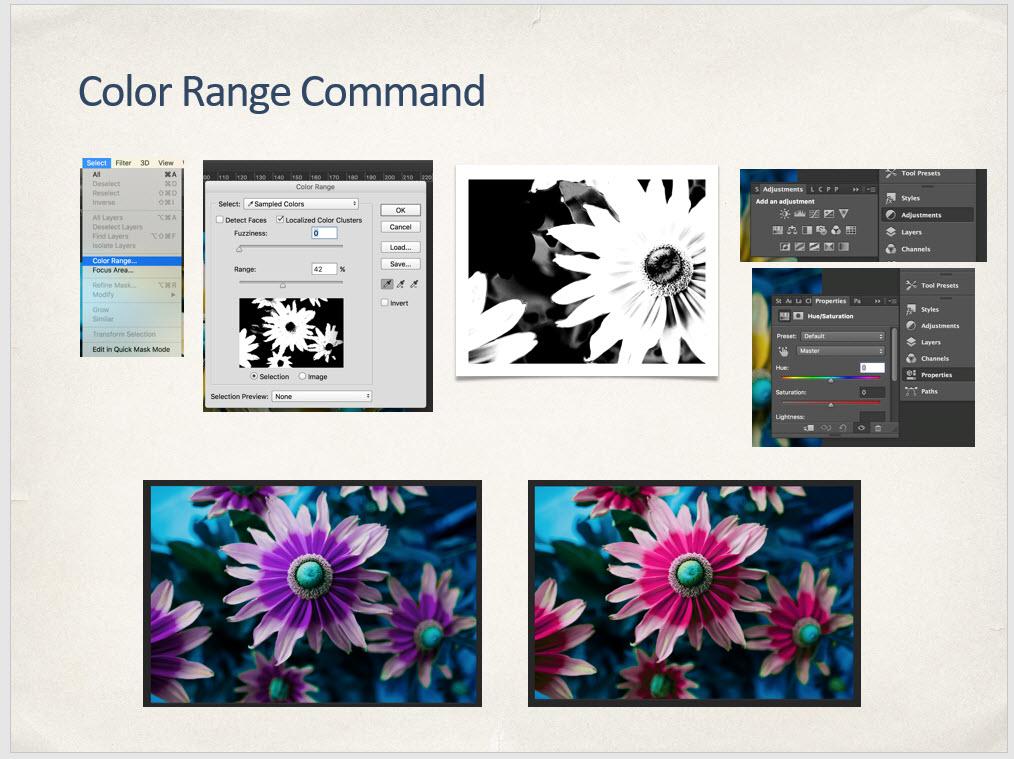 Color Range Command
