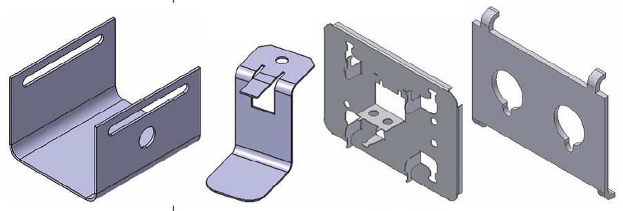 Sheet Metal Parts, ομοιότητες και διαφορές από Solid Parts