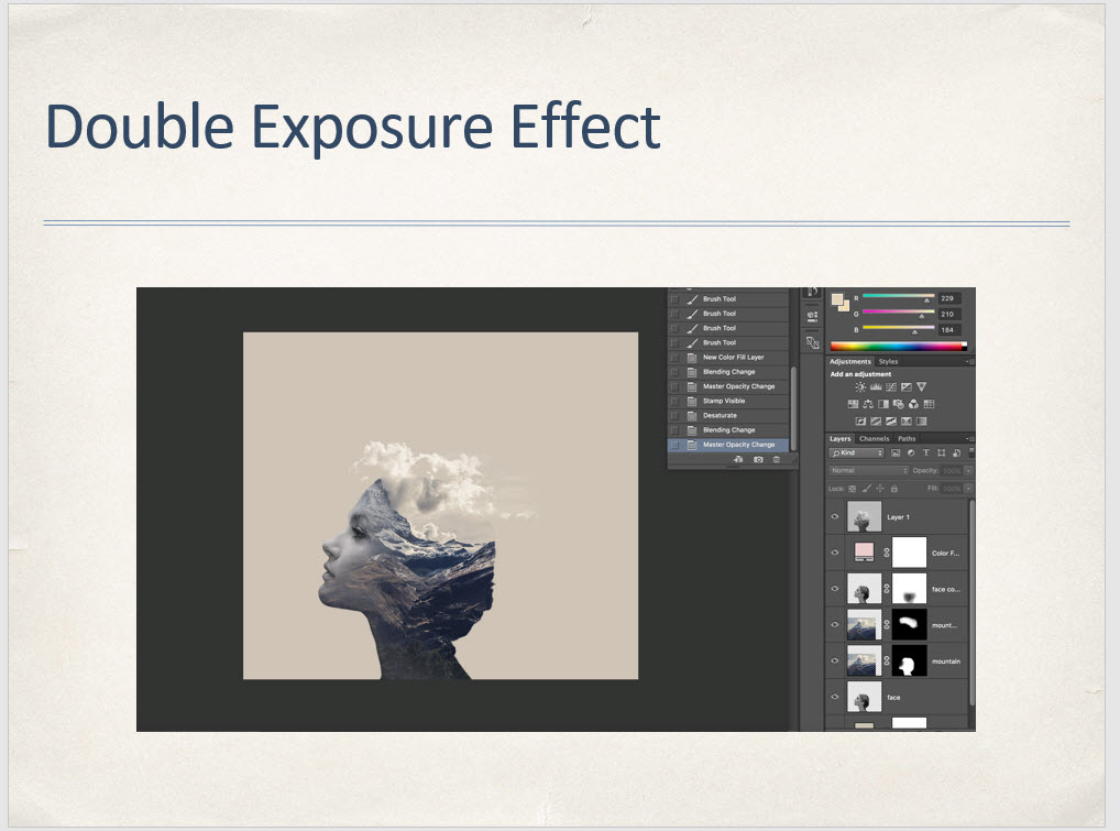 Double Exposure Effect