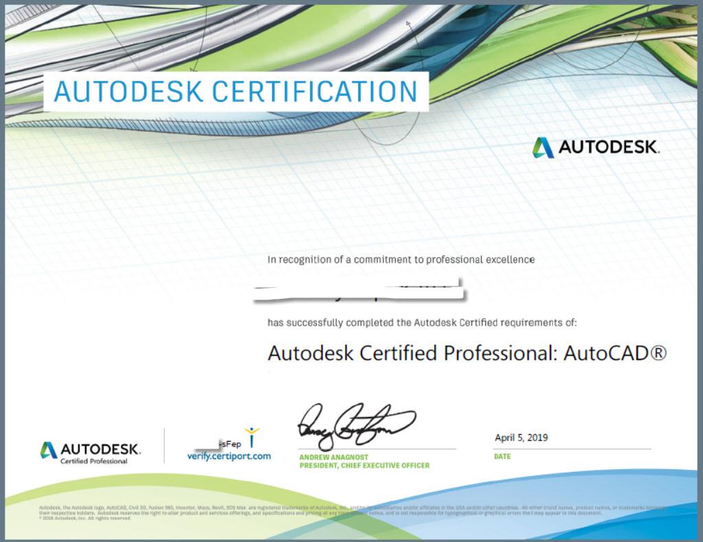 Autodesk professional